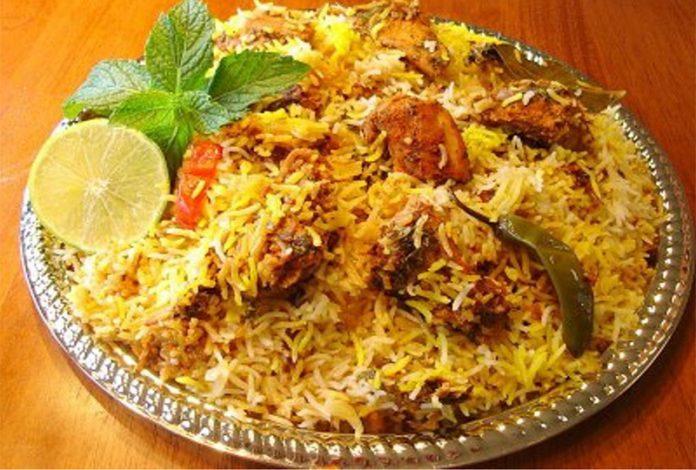 Famous Food biryani
