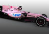 Force India take the wraps off new F1 car