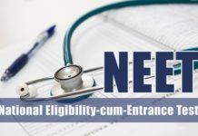 NEET 2018 CBSE To Allow Only One Chance For Correcting Application Form Details