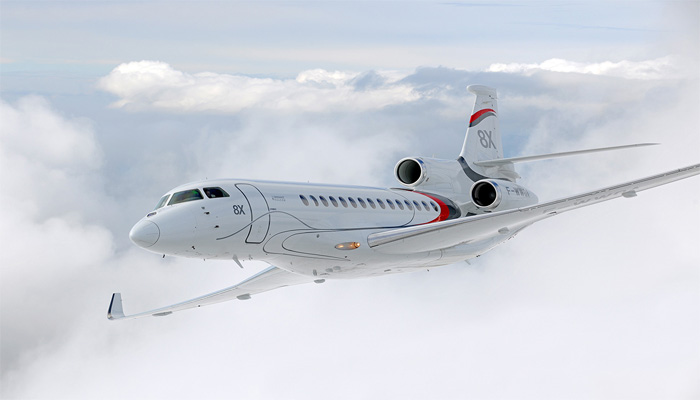 Falcon 8X to make first appearance at Wings India