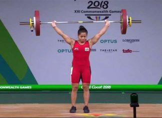 Commonwealth games 2018 sanjita chanu