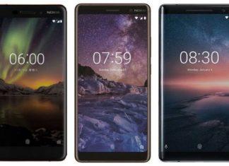 Nokia 6 (2018), Nokia 7 Plus, Nokia 8 Sirocco launched in India