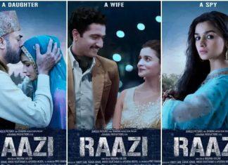 Alia Bhatt starrer Raazi