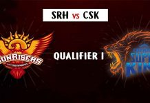 IPL 2018 : SRH vs CSK qualifier 1