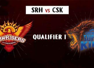 IPL 2018 : SRH vs CSK qualifier 1