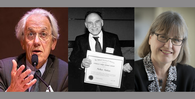 Arthur Ashkin, Gérard Mourou and Donna Strickland win Nobel prize in Physics