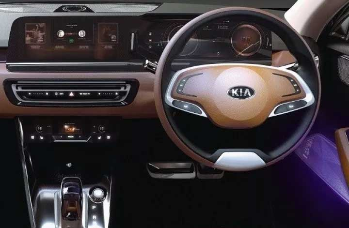 Kia SP2i SUV Interior