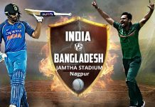 India vs Bangladesh T20 match